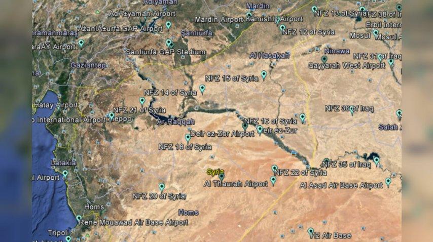 Estas son las localidades vedadas para los drones<br>