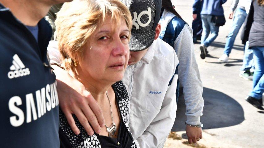 <p>Inhumaron los restos de Araceli en el cementerio de San Martín</p><p></p>