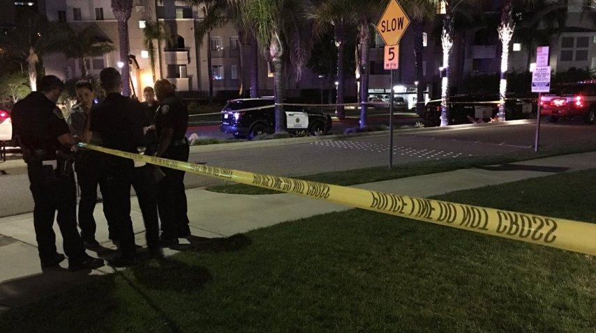 Tiroteo en San Diego, ocho heridos y un muerto - Crédito: @10NewsBrian