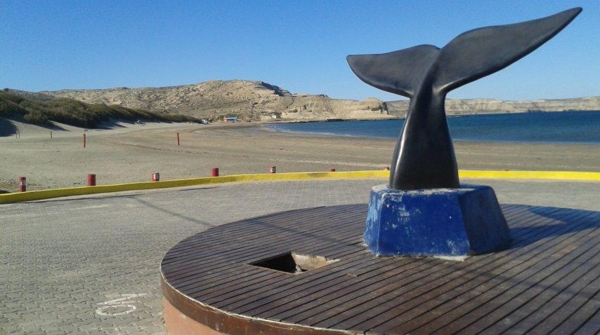 Puerto Pirámides, obligatorio pasar por allí<br>