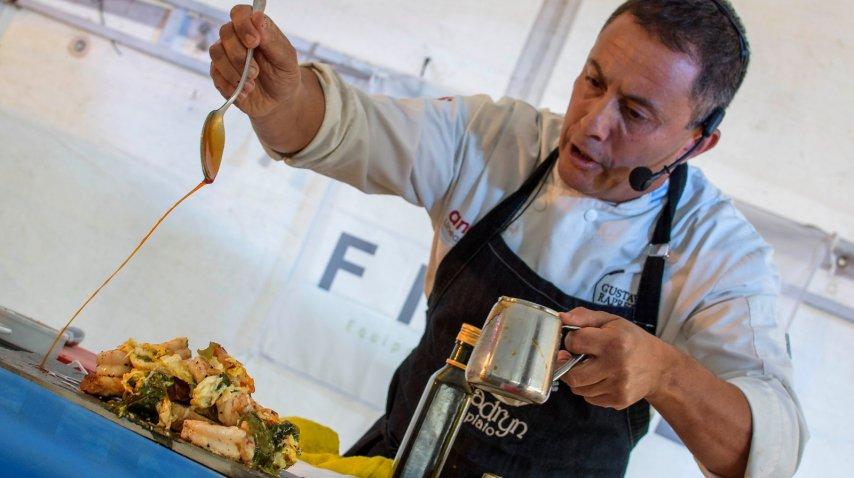 Gustavo Rapretti, uno de los mejores chef de Madryn<br>