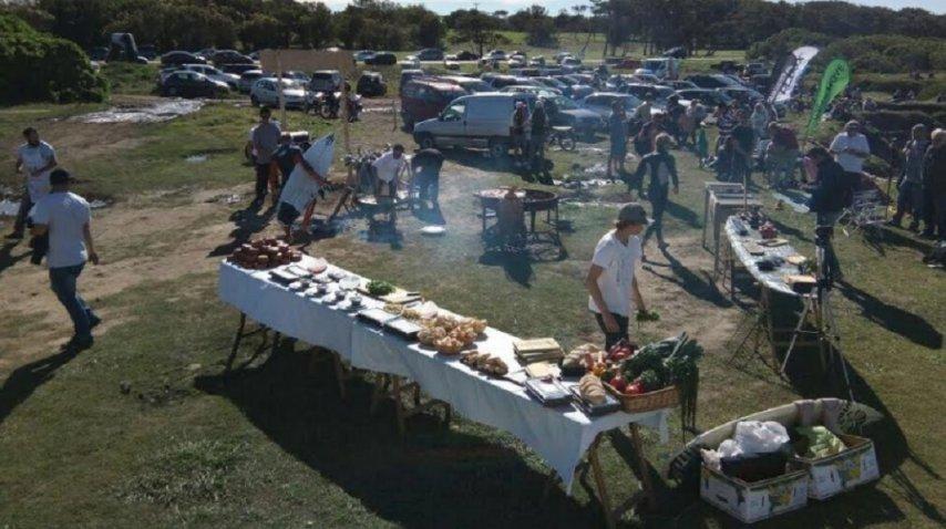 La oferta gastronómica fue top: el cheff Rodo Puente hizo la gran Francis Mallman y además hubo dos foodtrucks. La gente, agradecida