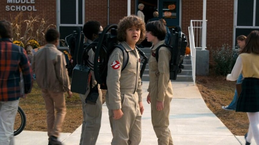 Ésta es la primera imagen que circuló de la segunda temporada de Stranger Things. <br>