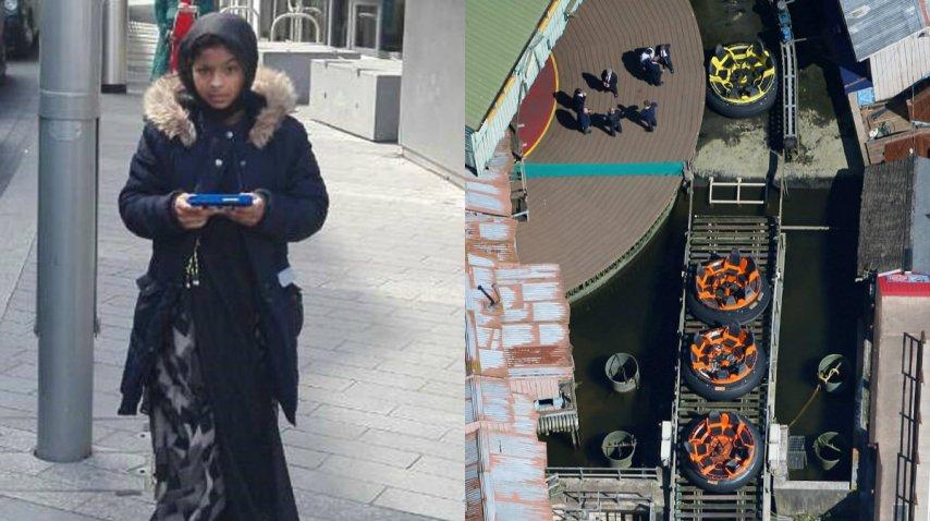 Evha, de 11 años, murió al caer de un juego en un parque de diversiones<br>