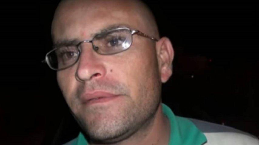Lucas Gómez, padrastro de la joven Florencia Di Marco<br>
