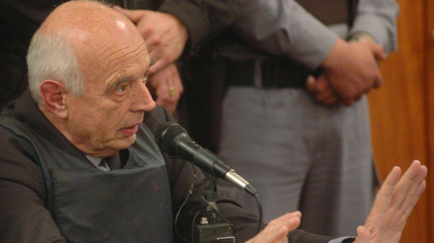Christian Von Wernich declara en el juicio por genocidio<br>