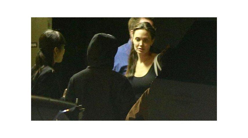 Angelina Jolie y su padre se reencontraron tras varios años de distancia<br>