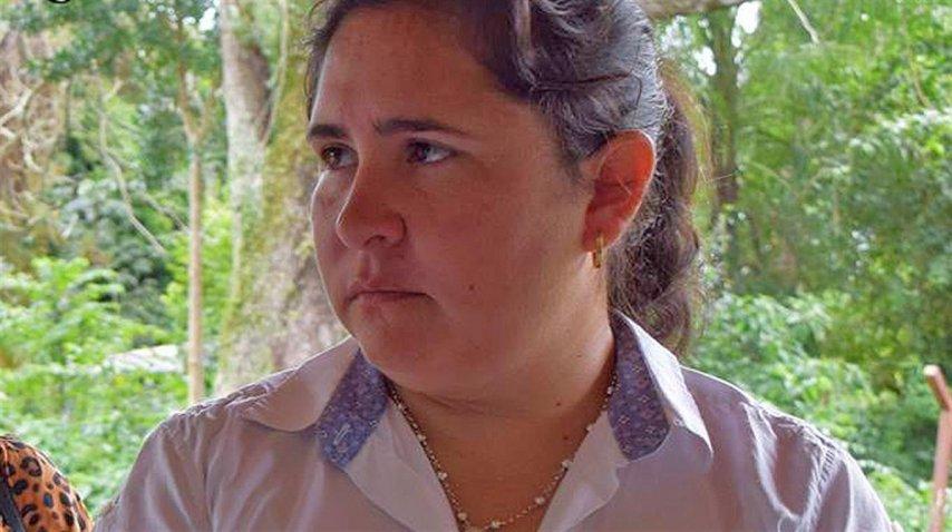Verónica Morales, intendenta de  San Cosme