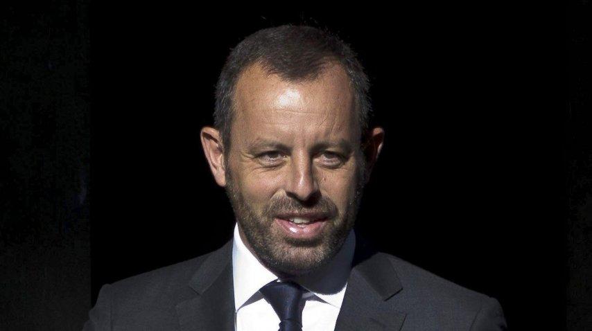 El ex presidente del Barcelona Sandro Rosell<br>