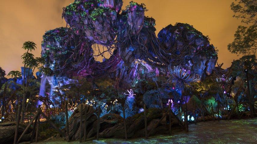 Pandora, el nuevo parque de Disney que recrea Avatar