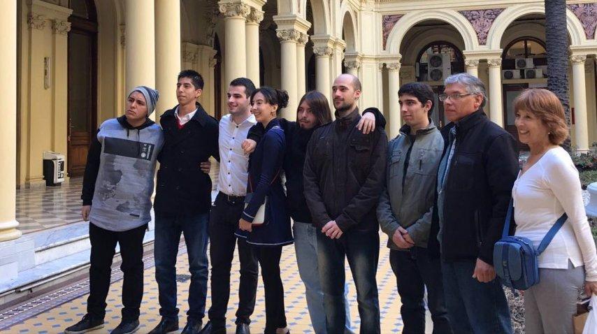 Macri recibió a usuarios de Taringa! en Casa Rosada<br>