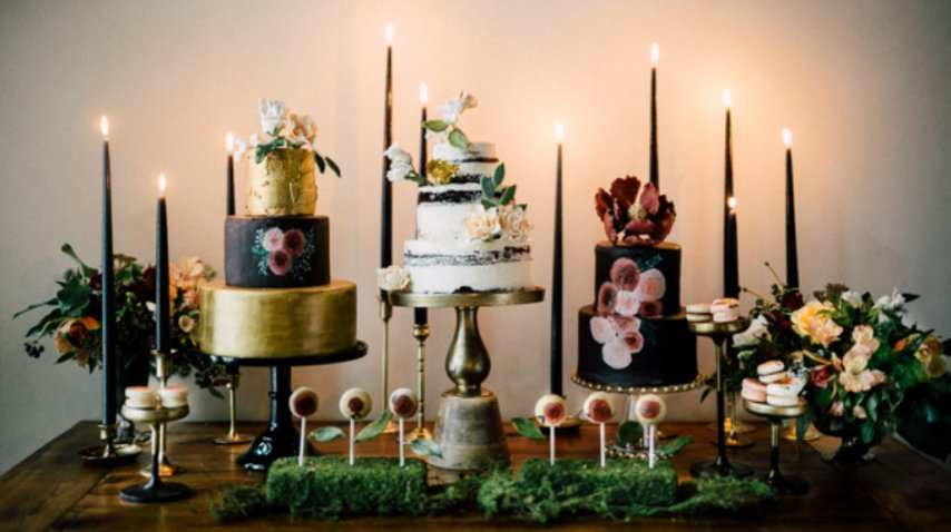 Una mesa de dulces muy distinta a los postres tradicionales<br>