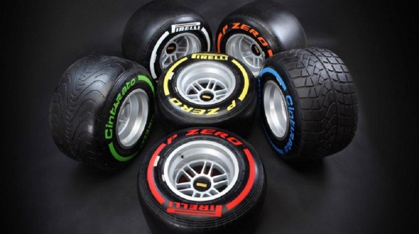 Neumáticos Pirelli en Fórmula 1