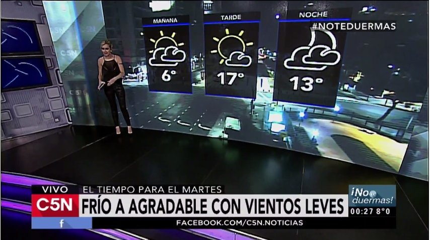 Pronóstico del tiempo del martes 13 de junio de 2017
