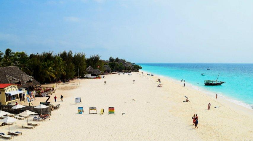 Las playas de Zanzibar son de las más lindas del mundo<br>