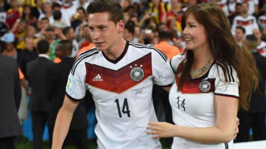 El futbolista está de novio hace siete años con Lena Stiffel