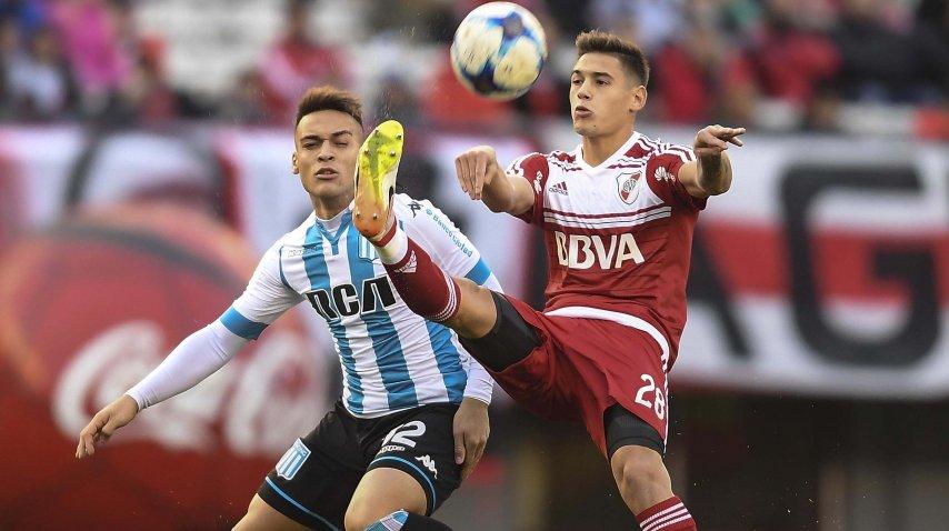 Martínez aprovechó la carambola tras el despeje de Martínez Quarta