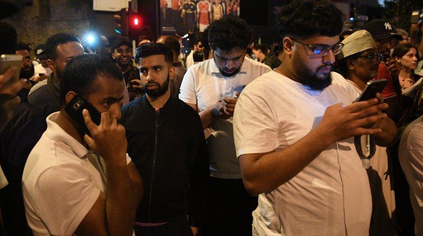 <p>Atropellaron a fieles musulmanes en Londres</p><p></p>