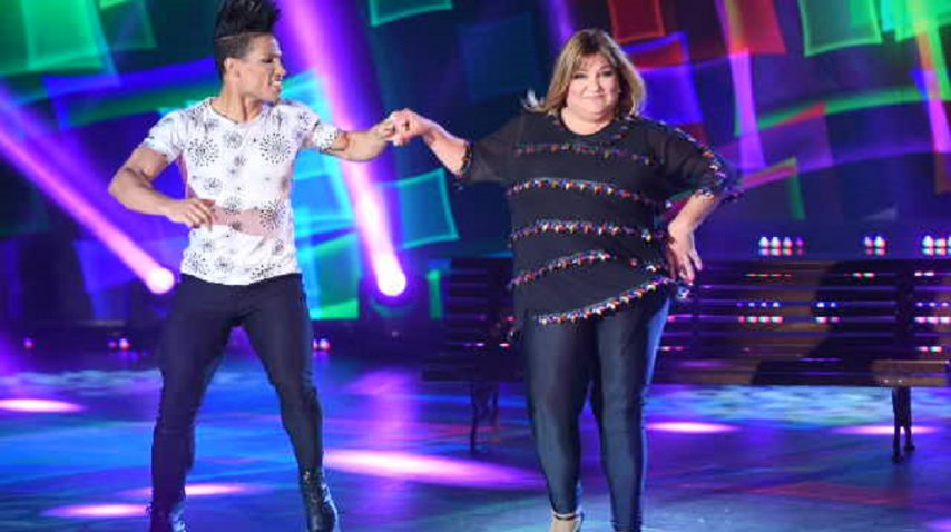 Beatriz Prandi en la cumbia pop del Bailando 2017 de ShowMatch<br>