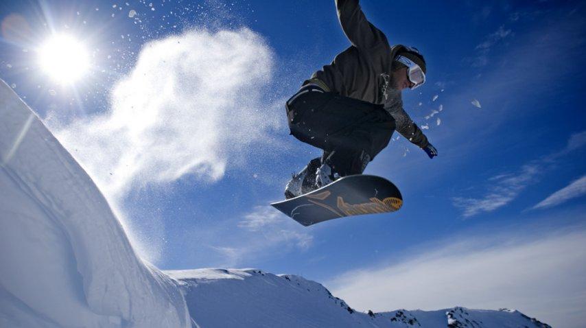 Snowboard en La Hoya, Esquel<br>