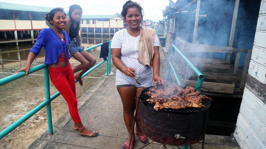 Comida y costumbres muy diferentes que las de Arequipa, Lima o Ayacucho<br>