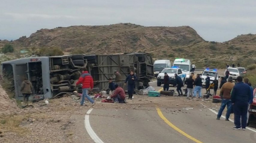 Desgarrador video minutos después del accidente