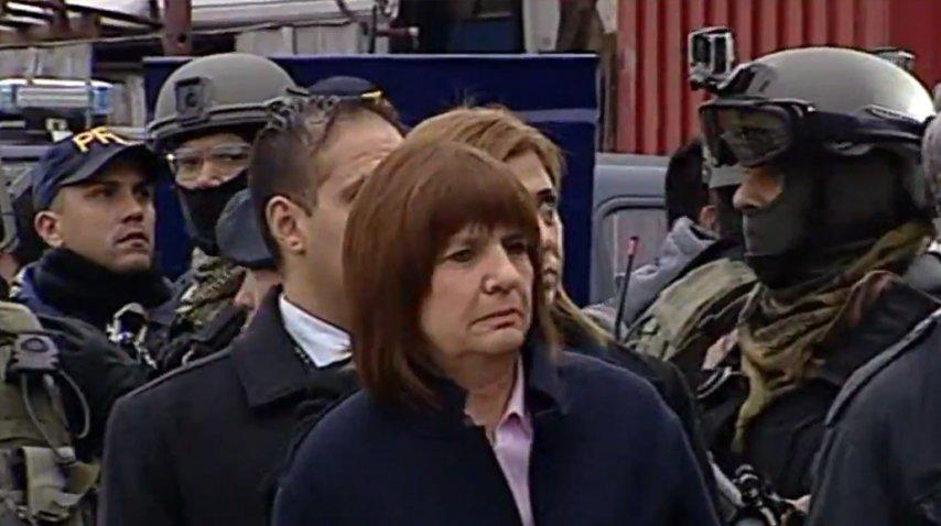 Patricia Bullrich en la 1-11-14