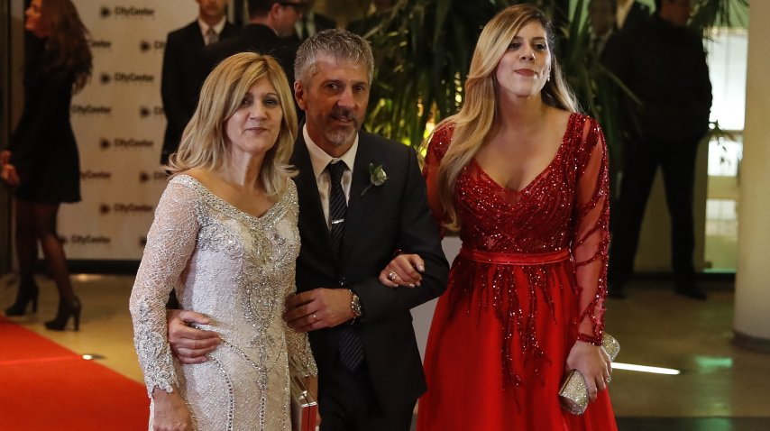 Celia Cuccittini, Jorge Messi y María Sol Messi