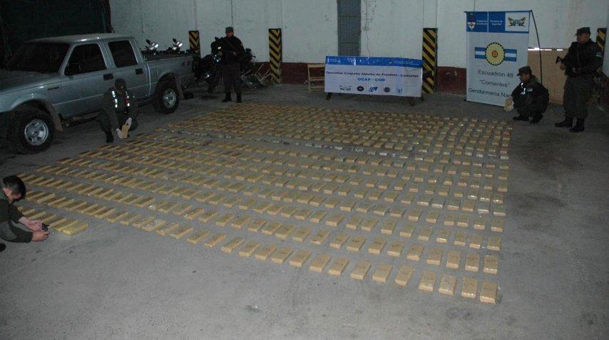 <p>Incautaron más de 400 kilos de marihuana en Itatí</p><p></p>