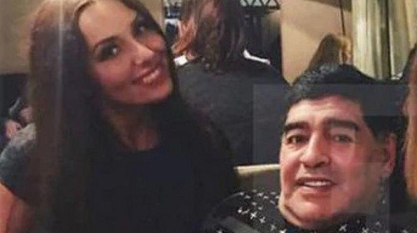 Ekaterina Nadolskaya denunció a Maradona por acoso