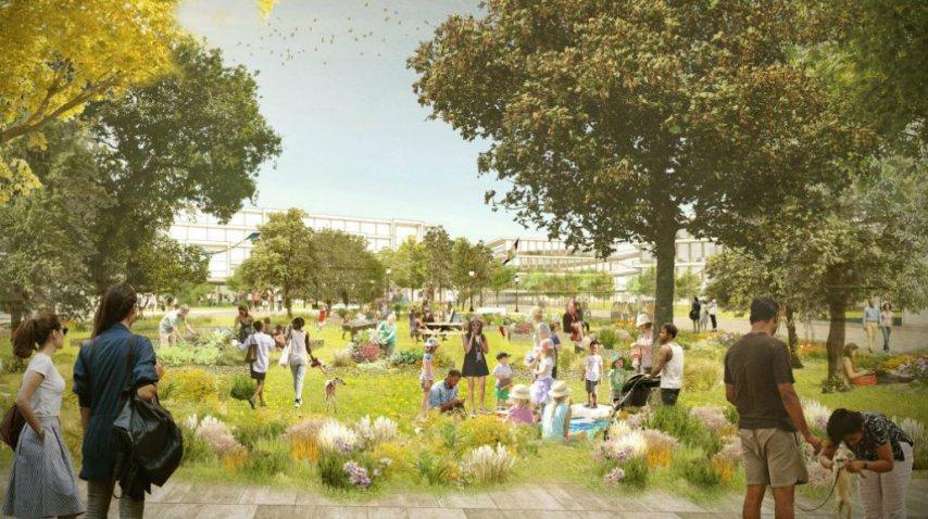 El nuevo campus será como una pequeña ciudad de Facebook<br>