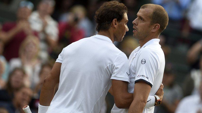 Nadal cayó ante Muller en Wimbledon