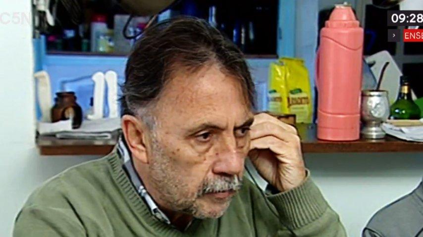 Horacio Córdoba pidió justicia por su hija asesinada