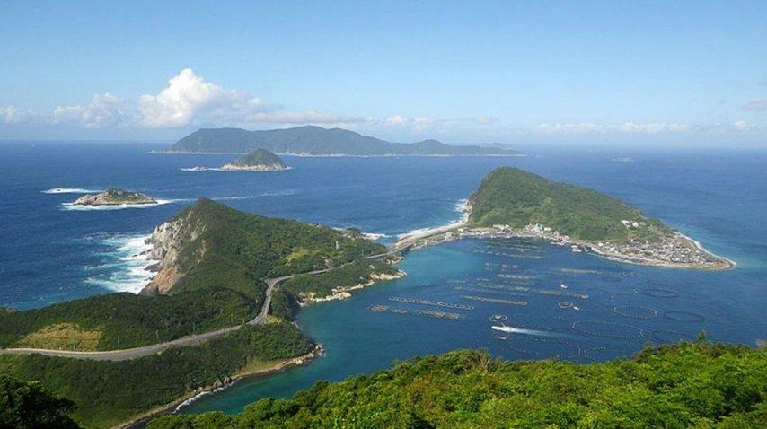 Okinoshima es una isla que sólo admite la visita de hombres<br>
