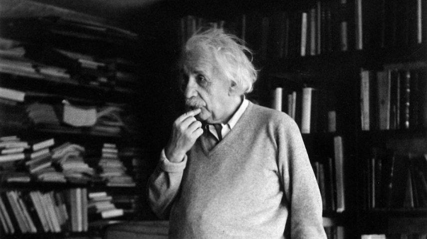 Einstein fue uno de los profesores más famosos de Princeton<br>