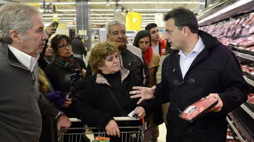 <p>Canasta básica: Massa apuntó al Gobierno por el precio de los alimentos</p><p></p>