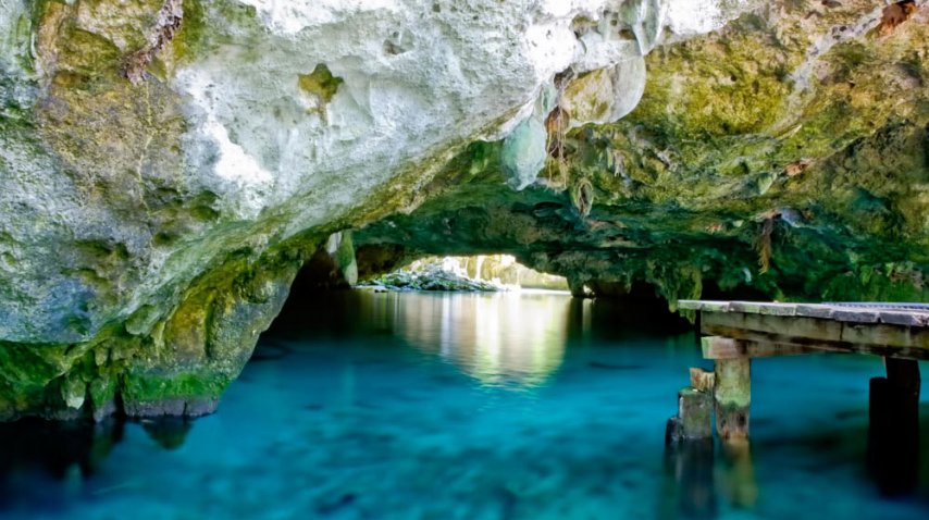 El Gran Cenote es un lugar para practicar snorkel y nadar