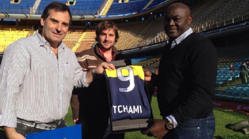 <div>Tchami volvió a la Bombonera - Crédito: www.bocajuniors.com.ar</div>