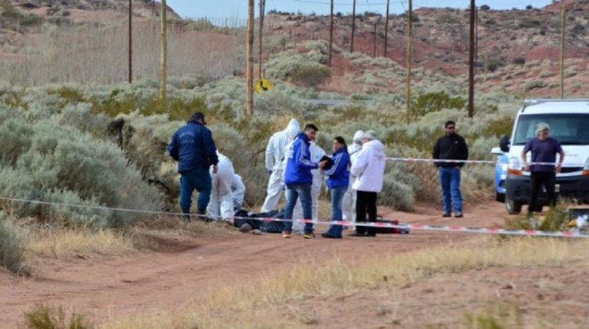 <div>Asesinaron y quemaron a una embarazada - Crédito: Miguel Huentecol</div><div><br></div>