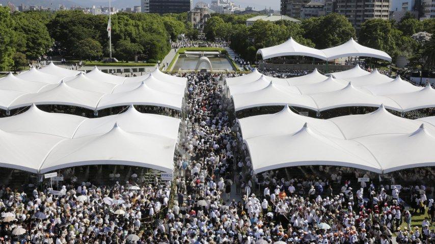 <p>Conmemoración por los 72 años de la bomba nuclear en Hiroshima</p><p></p>