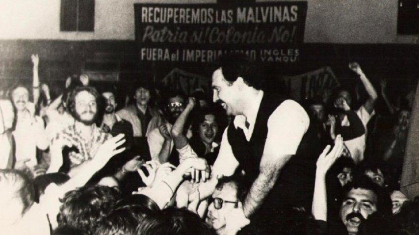 Patricio Echegaray en los '80