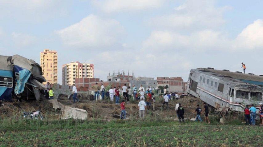<p>Al menos 36 muertos por un choque de trenes en Egipto: Crédito: news.sky.com</p><p></p>