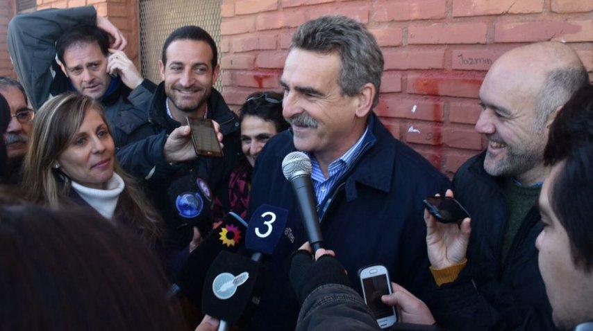 Agustín Rossi, candidato a diputado por Santa Fe<br>